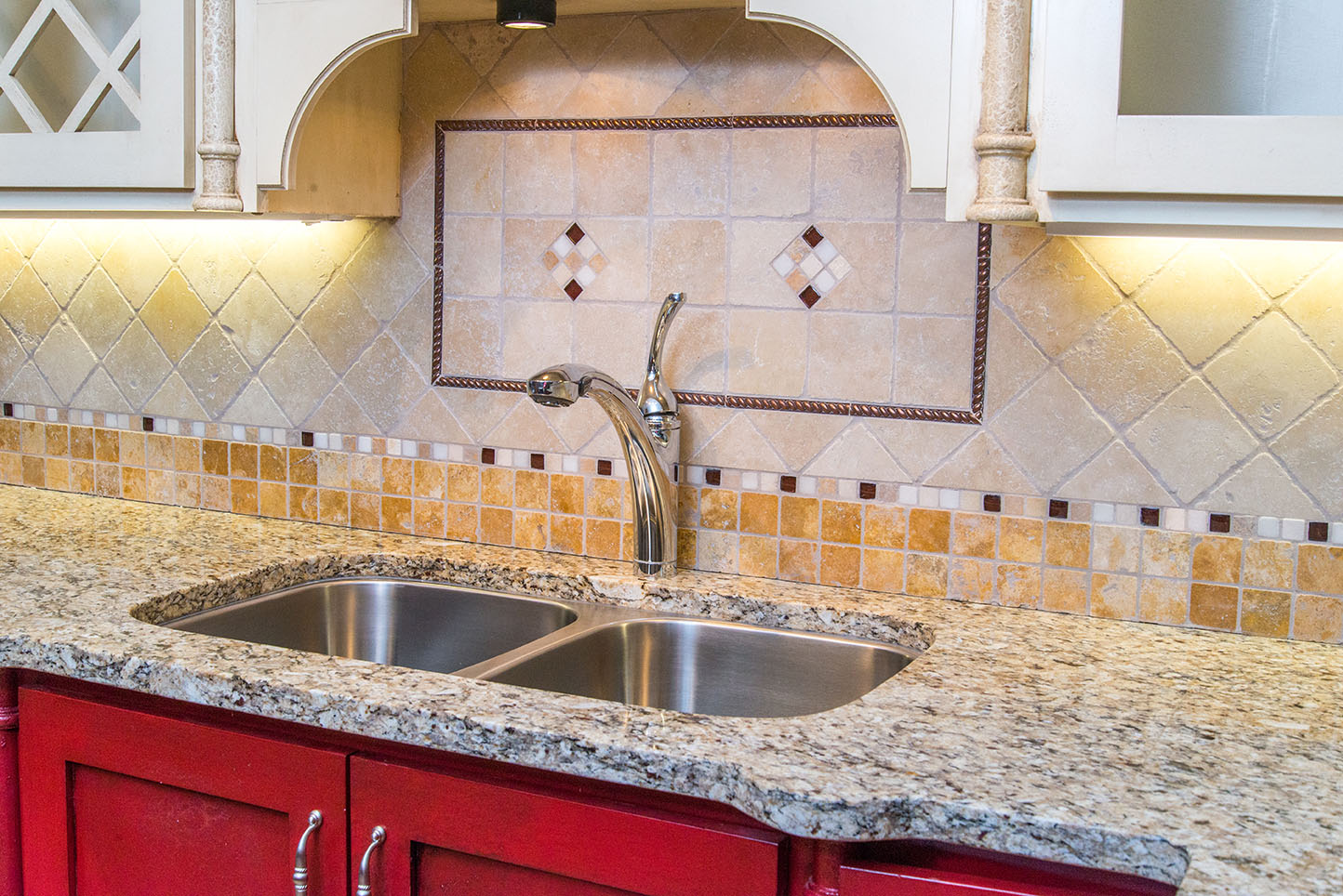 Countertops And Backsplash Combinations Kitchen Backsplash Trends