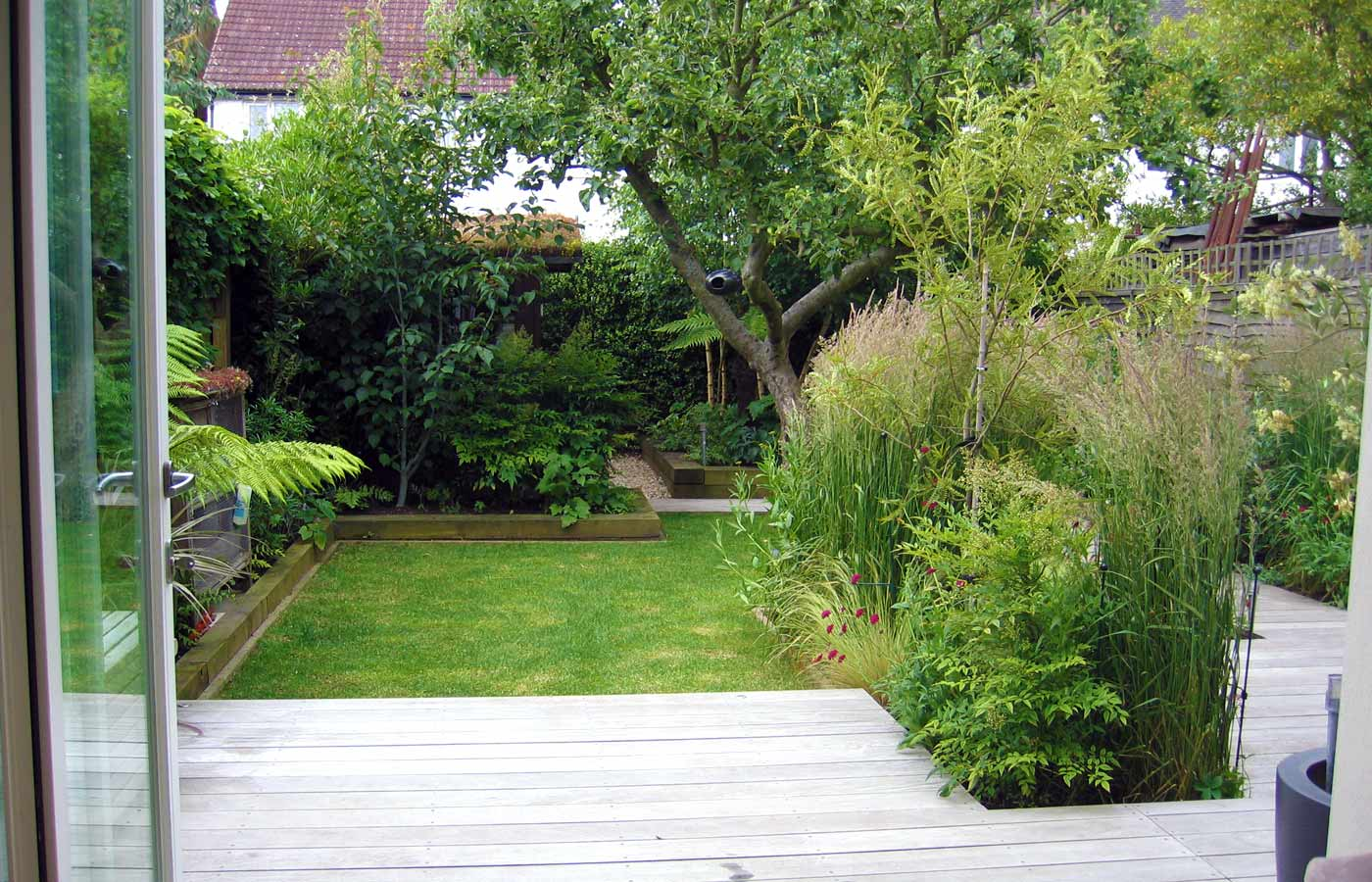 Pool Liten Rund Garden Design For Small Garden With Decking