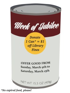 Week of Jubilee Graphic created by Hannah Bean