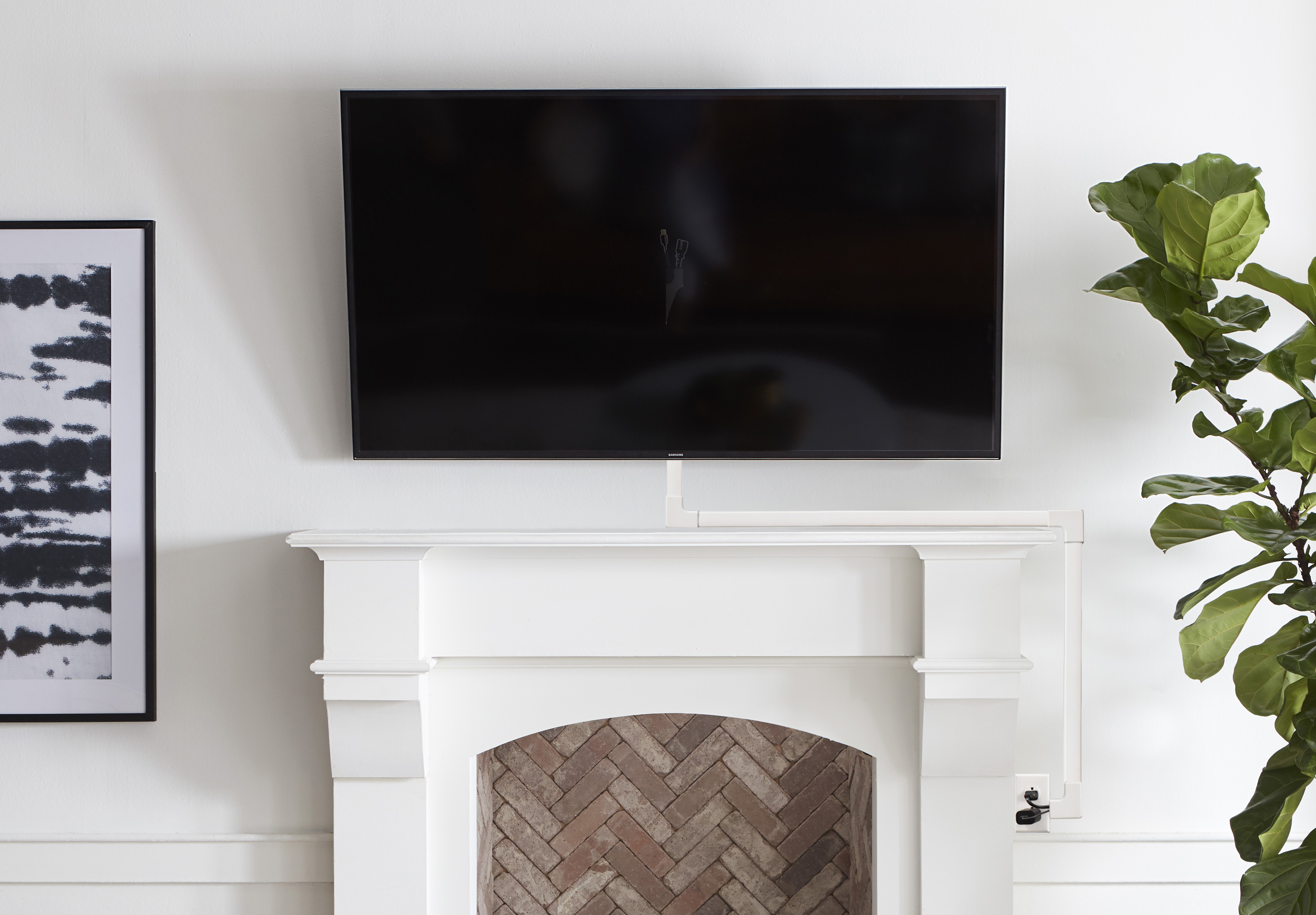 Television Over Fireplace Design Mounting A Tv Over A Fireplace How Does It Work Echogear