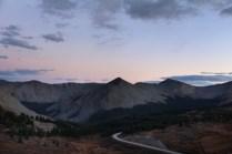 Leaving Cottonwood Pass Summit