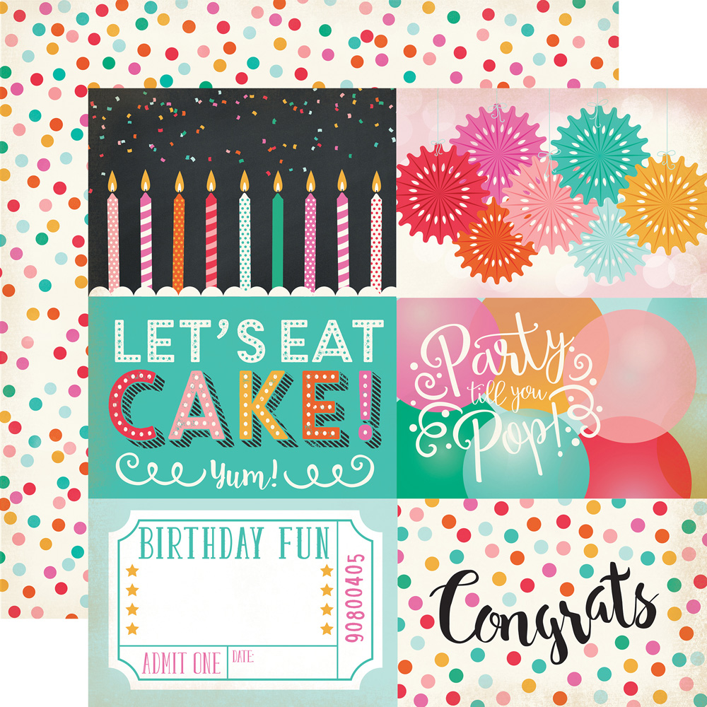 Party Time Collections Echo Park Paper Co Party Time