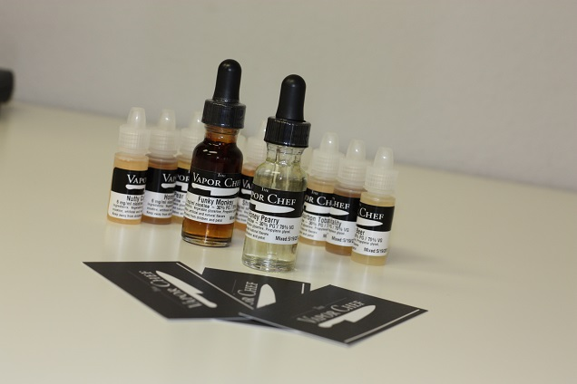 The Vapor Chef E-liquid Review Juices Crafted by a Chef