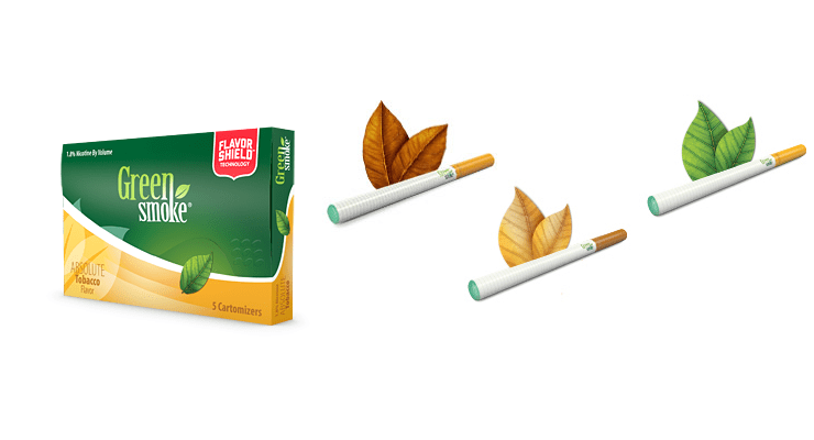 Green-Smoke-tobacco-flavours