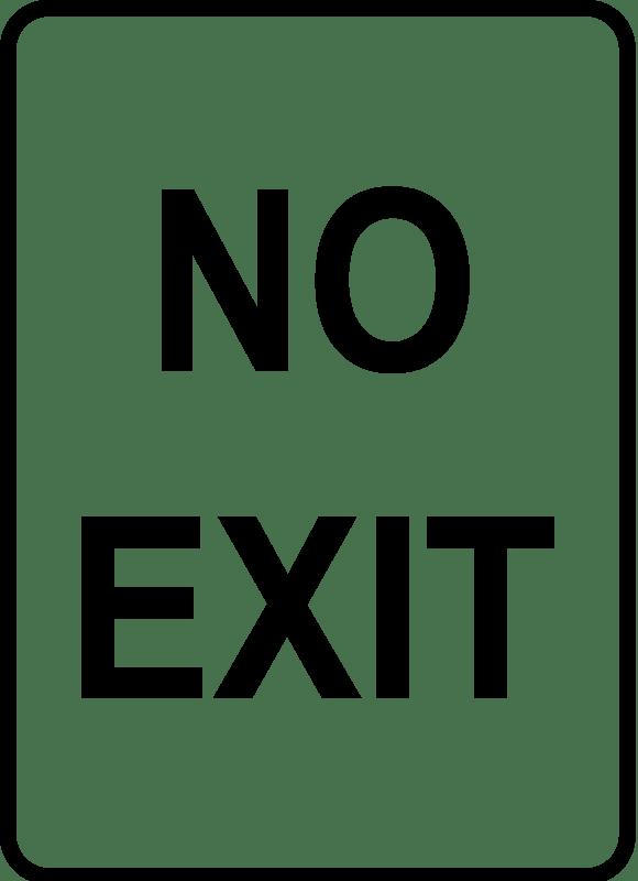 del Schaltplan for exit signs