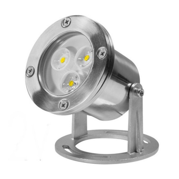Spot Led Etanche Ip68 3w Blanc Chaud 3500 K Eclairage Design