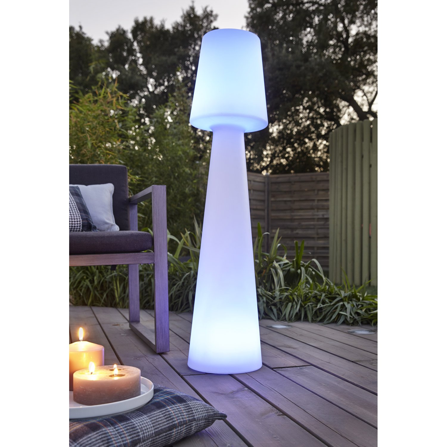 Eclairage Terrasse Led Solaire Lampadaire Extérieur Led Eclairage Extérieur