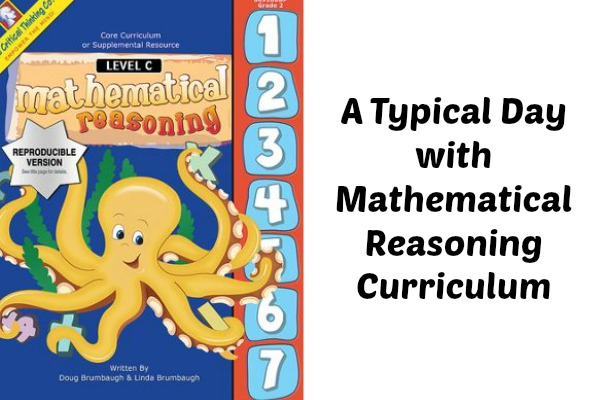 A Typical Day with Mathematical Reasoning Curriculum \u2013 Eclectic