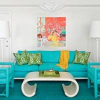 Color Schemes: Aqua and Green   ECLECTIC LIVING HOME