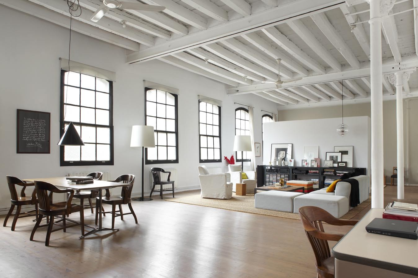 Scandinavisch Design Slaapkamer Eclectic Trends | Barcelona Style: An Amazing Loft For