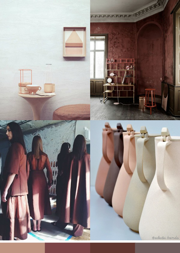 Eclectic trends earth color trend 2016 17