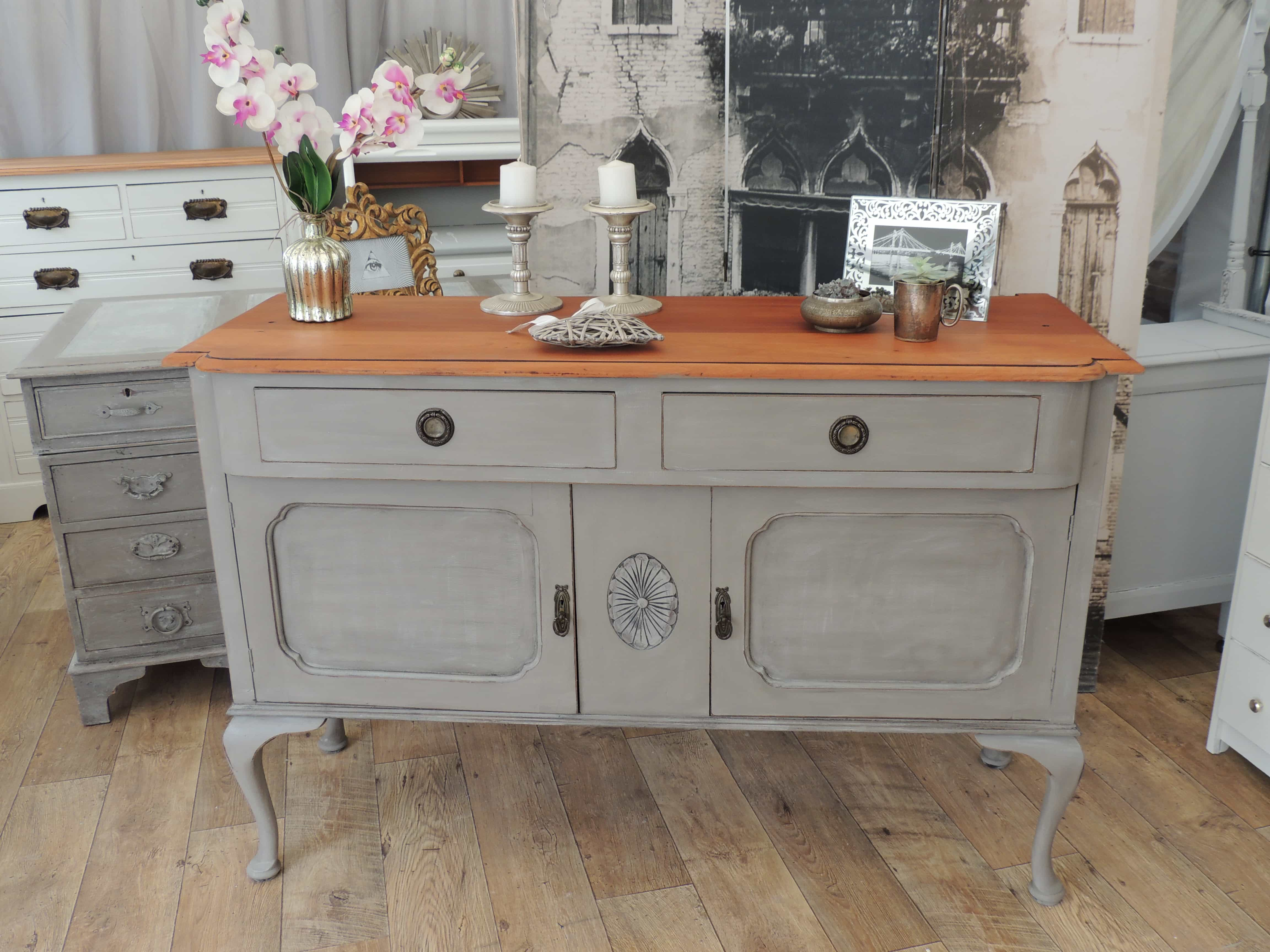 Sideboard Shabby Chic Shabby Chic Edwardian Sideboard Eclectivo London Furniture