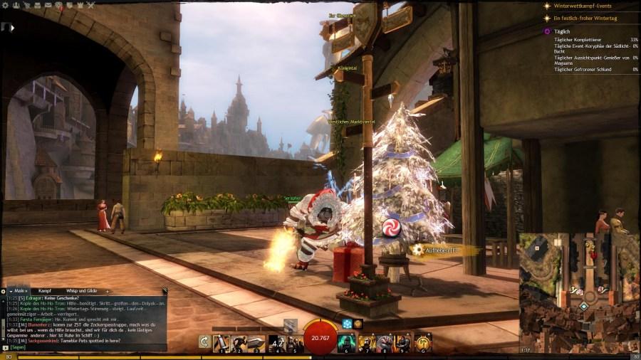 Weihnachtsbaum Dwayna-Platz
