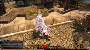 Weihnachtsbaum Wegmarke Marktviertel