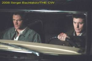 Jared Padalecki & Jensen Ackles As Sam and Dean Winchester in Supernatural Season 4