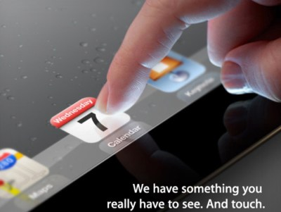 Apple-iPad 3 Media Event