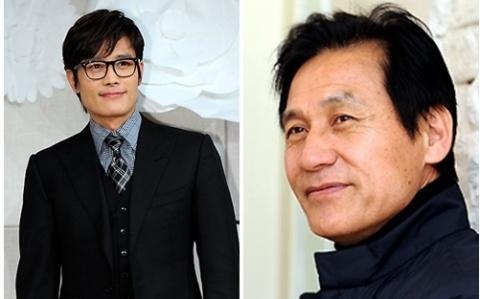 Byung-hun Lee & Ahn Sung Ki