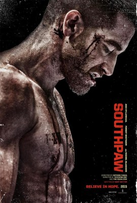 southpaw poster jake gyllenhaal