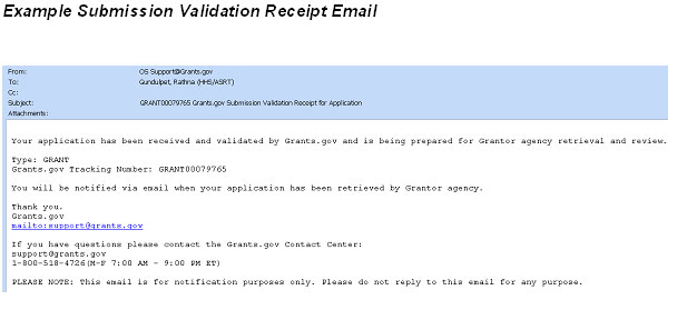 Tracking Your Grant Application Package What to Expect After
