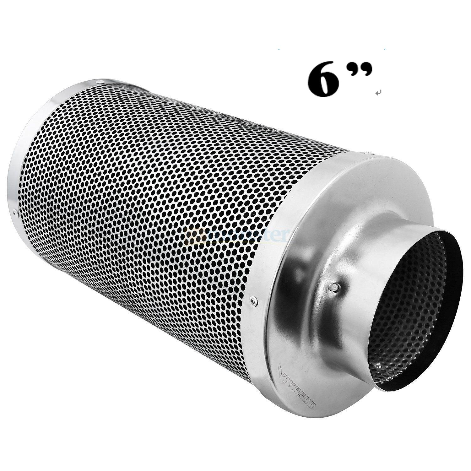 Charcoal Air Filter Air Filter Virgin Carbon Charcoal Inline Fan Scrubber Odor