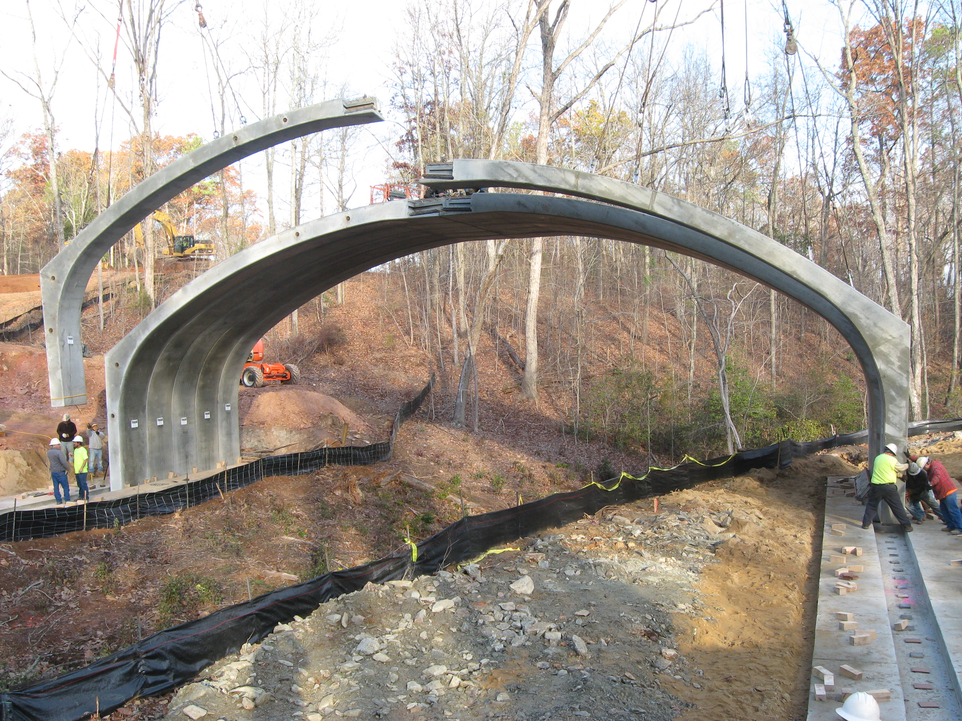 Precast Bridges Precast Concrete Arches Bridges And Culverts Eco Span