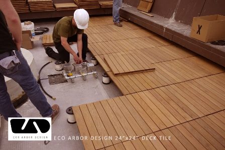 Eco Arbor Designs Deck Tiles And Porcelain Pavers For