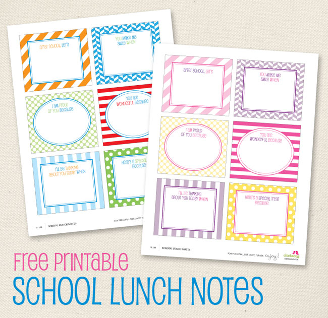 Free Printables Back to School Fun from ecoBaby