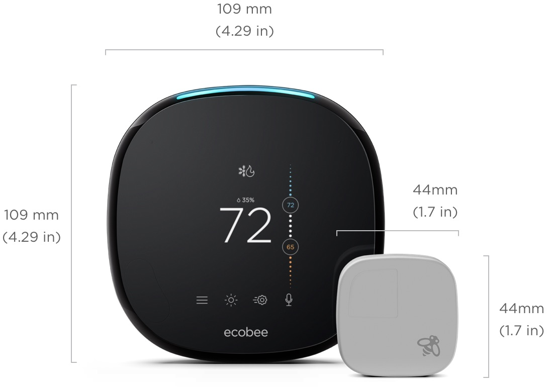 Ecobee Sensor Ecobee4 Ecobee Smart Home Technology