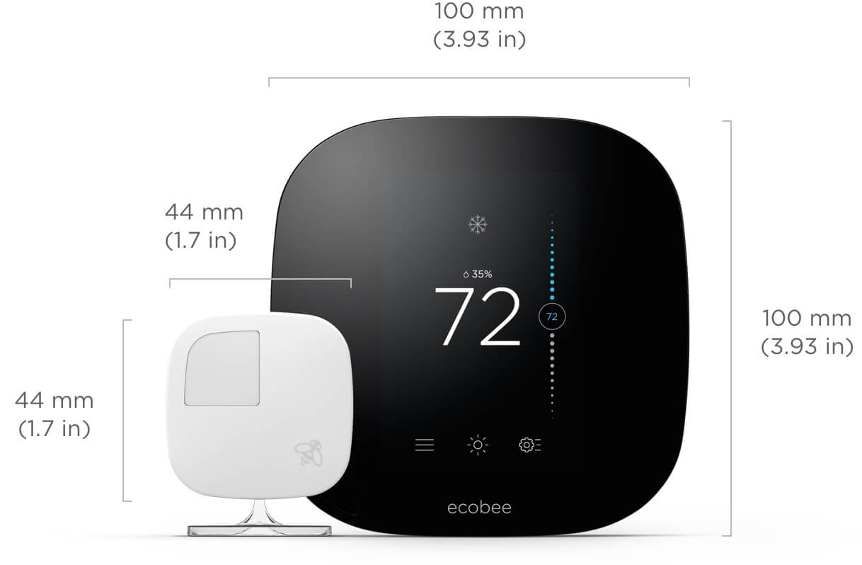 Ecobee Sensor Ecobee3 Smart Thermostat With Room Sensors Ecobee Smart Home