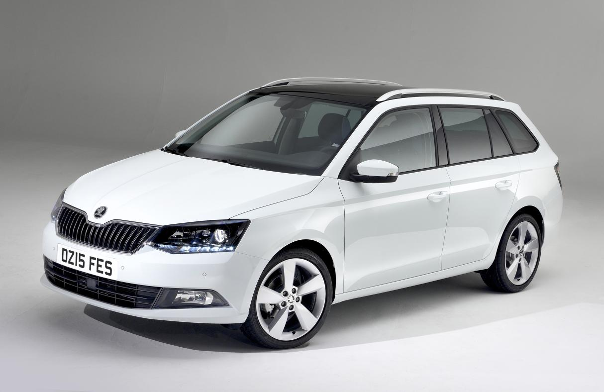 Car Manufacturers Leeds Škoda's Eco Car The Fabia Estate Names Its Price