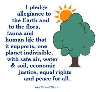 A Pledge of Allegiance for the Planet