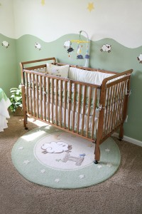 Eco-friendly designs for children's rooms