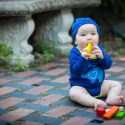 Super cute 100% compostable organic cotton baby clothing by Tumblewalla