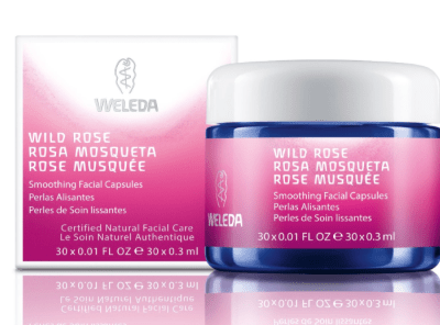 Certified Natural Skin Care:  Weleda Wild Rose Soothing Facial Capsules
