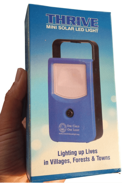 How an LED solar light can change the world