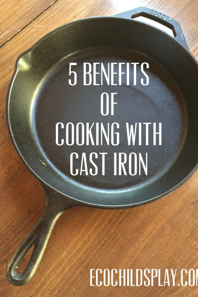 5 benefits of cooking with cast iron