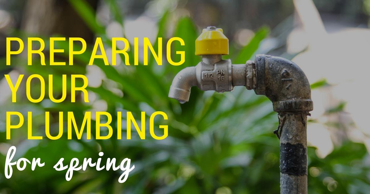 Preparing Your Plumbing for Spring