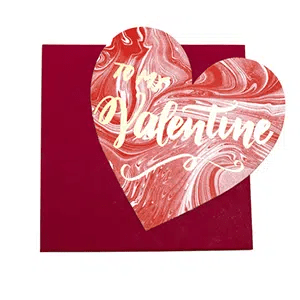 Valentine's Day Card that donates to helping animals in need