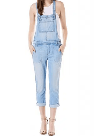 Eco-friendly overalls made from Tencel in the US