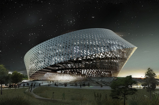 big architects library for kazakhstan 1