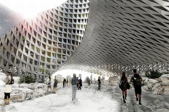 big architects library for kazakhstan 7