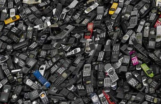 cell phone landfill