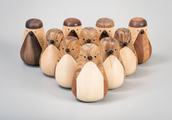 Designer Makes Wooden Birds From Old Furniture
