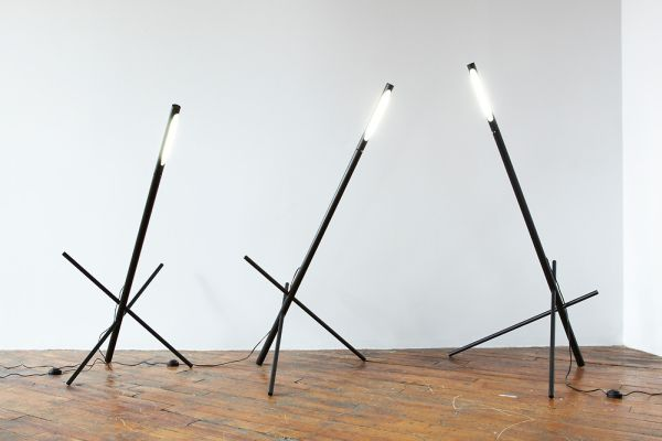 Designers Transform Factory Parts Into Fancy Lighting