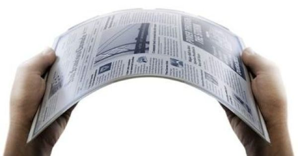 Flexible E-paper displays