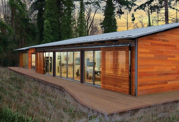 Glidehouse Prefab Built on Vashon Island