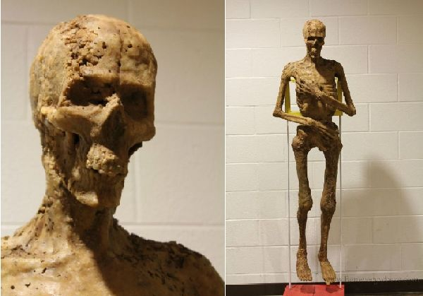 Guy Makes Life-Size Mummy Out of McDonald's Food