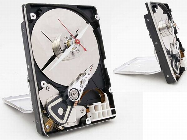 Hard drive clocks