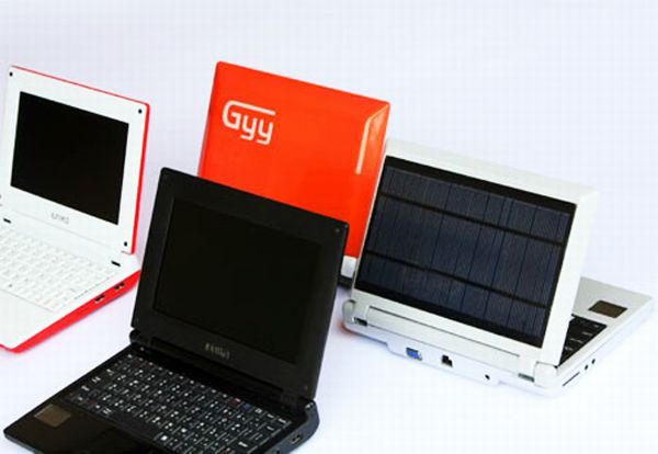 iunika solar powered netbook