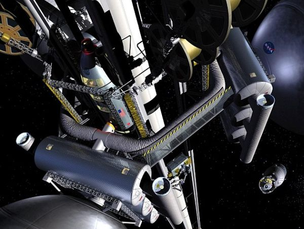 Japanese Company Announces Plans to Build 22,000-Mile-High Space Elevator by 2050
